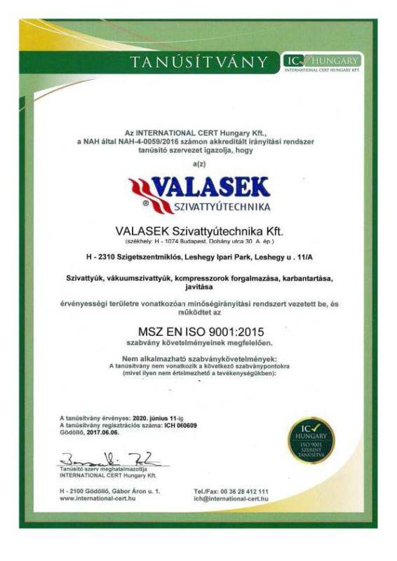 ISO magyar